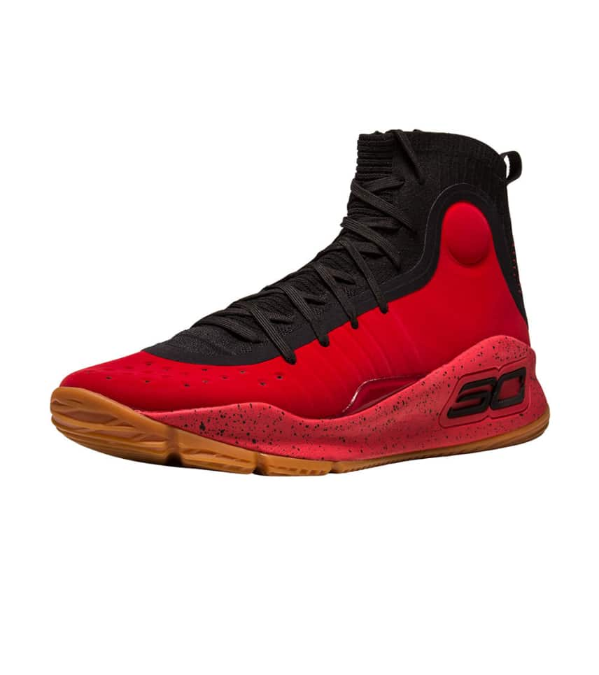 018b2445a3a9 Under Armour CURRY 4 (Red) - 1298306-603