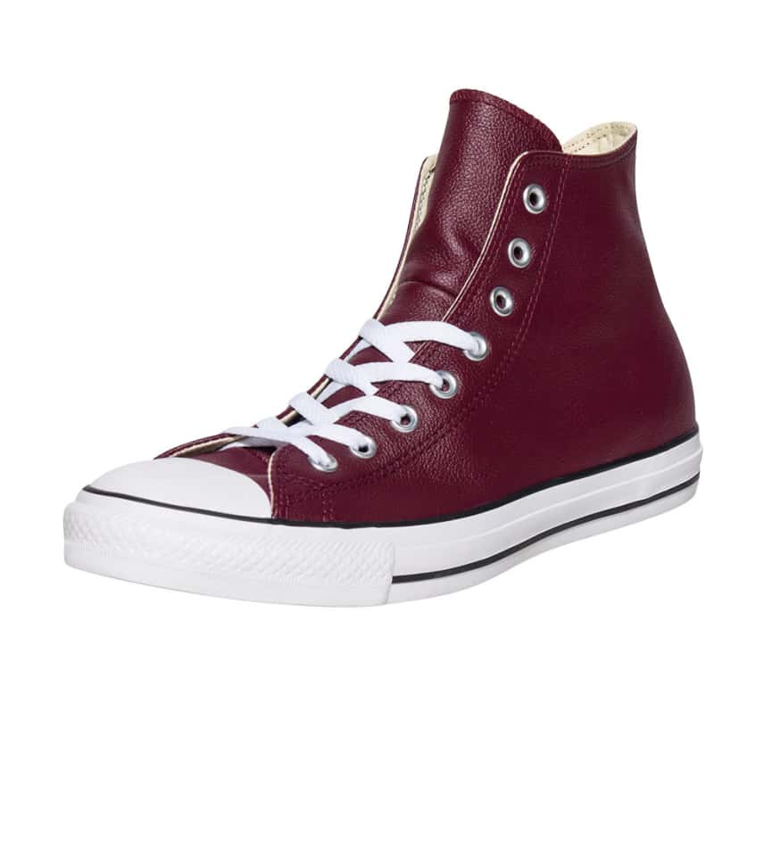 f19eba5b60df CONVERSE ALL STAR HI LEATHER SNEAKER (Burgundy) - 149491C