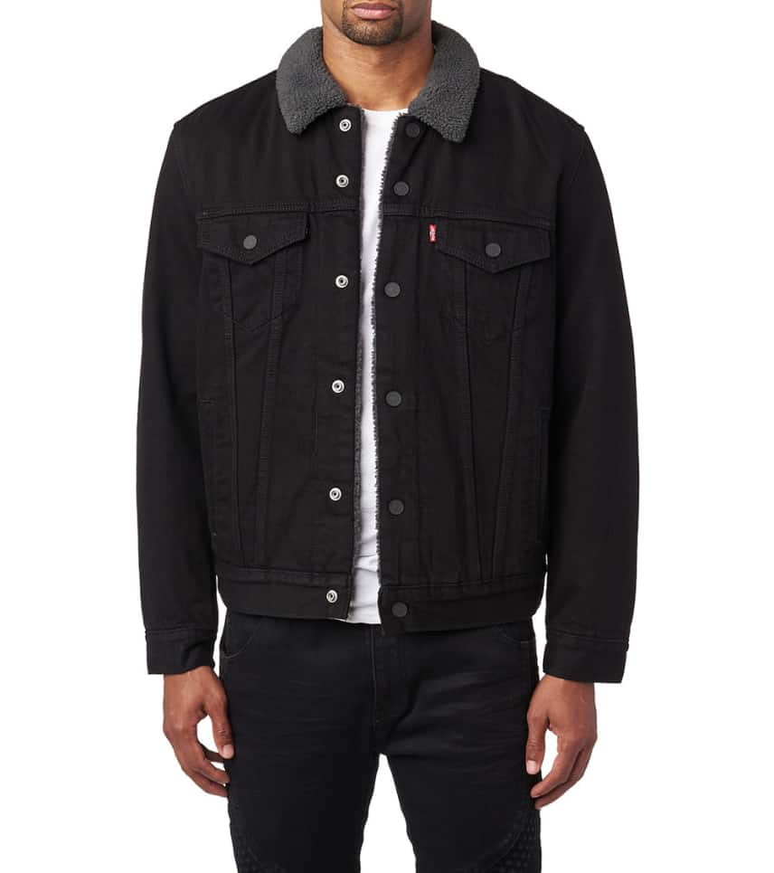Sherpa Denim Trucker Jacket