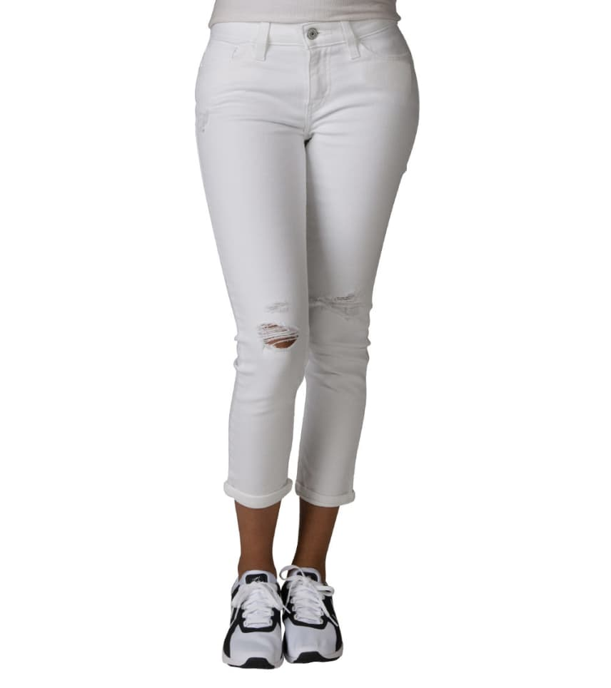 8d047ef67a34 Levis 535 CROPPED SUPER SKINNY JEAN (White) - 19153-0040 | Jimmy Jazz