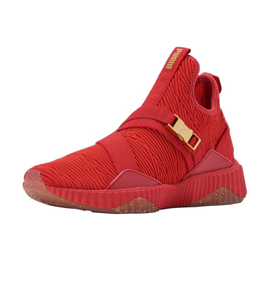 sports shoes d77fc ee167 Puma Defy Mid Varsity (Red) - 191667-03 | Jimmy Jazz