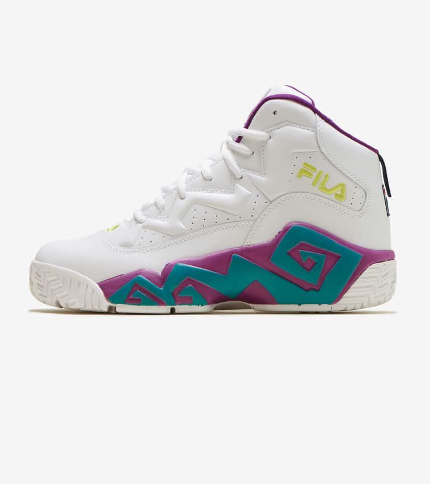 a38d1c075a94 FILA MB Basketball Shoe (White) - 1BM00522-148