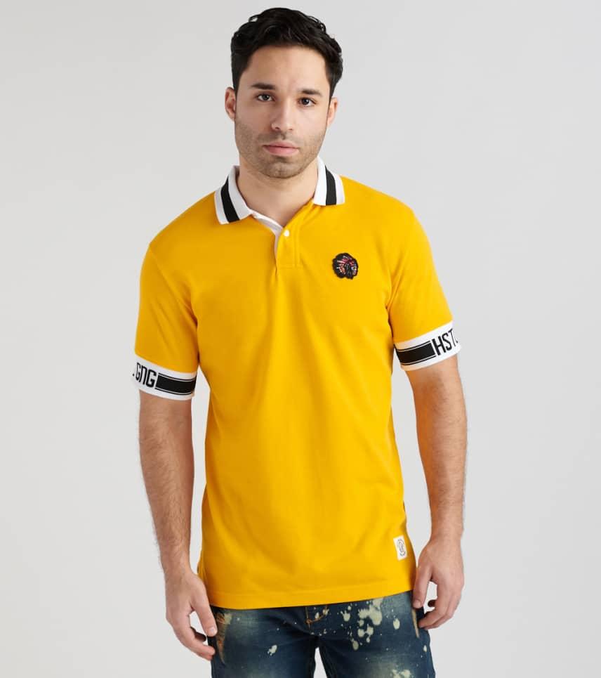 22761eb6c Hustle Gang Dynamite Short Sleeve Polo (Dark Yellow) - 2816302-OGL ...