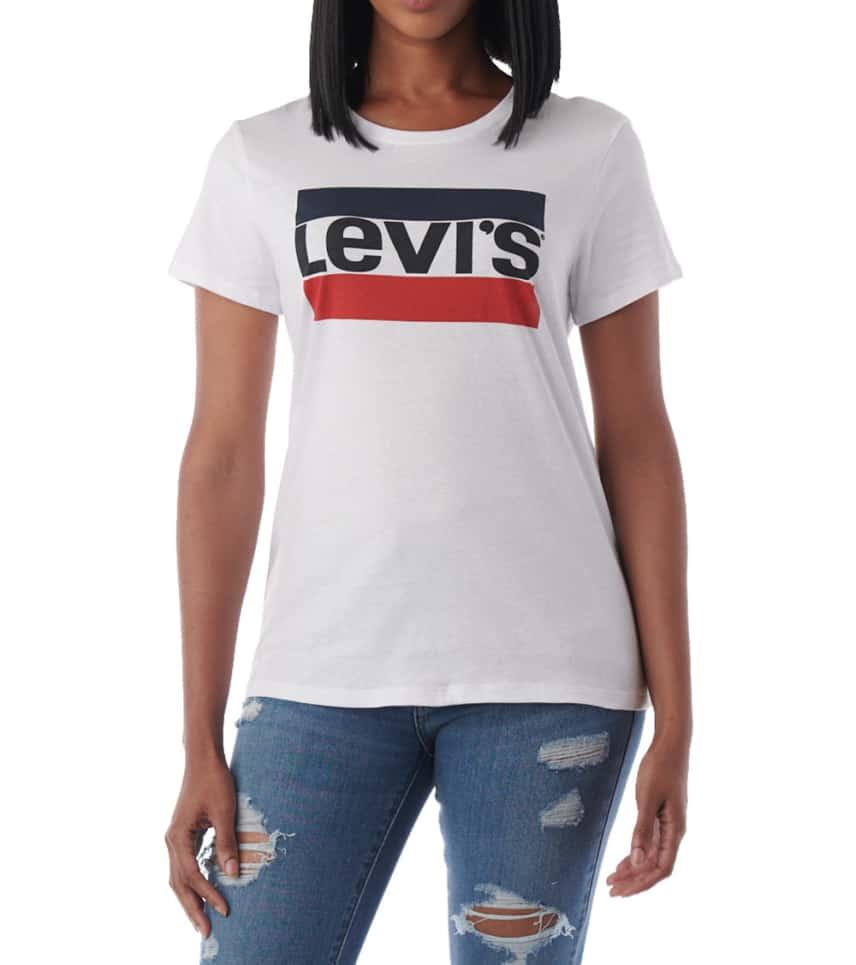 2bff1c8811b Levis Sportswear Logo Perfect Tee (White) - 29526-0094 | Jimmy Jazz