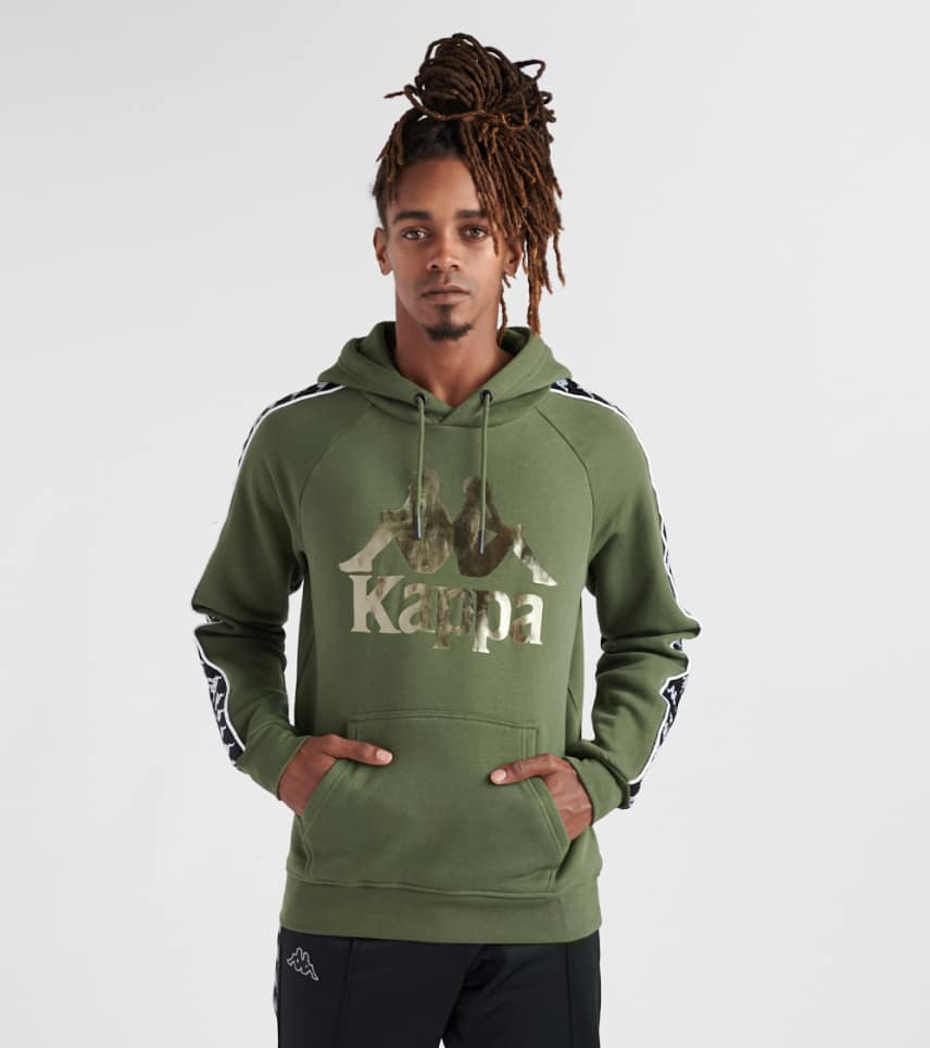 c4c78dfac6c4 Kappa Authentic Hurtado Hoodie (Medium Green) - 303WH20-GRN