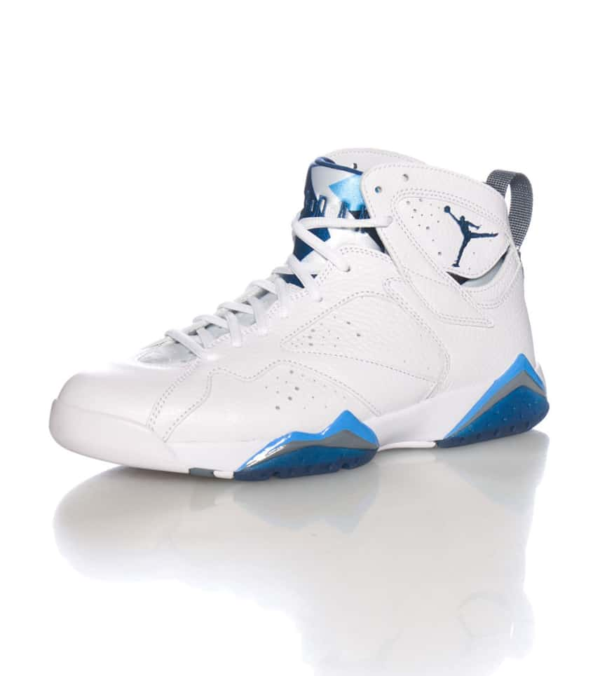 22ff4b57e9b2 Jordan RETRO 7 FRENCH BLUE SNEAKER (White) - 304775107