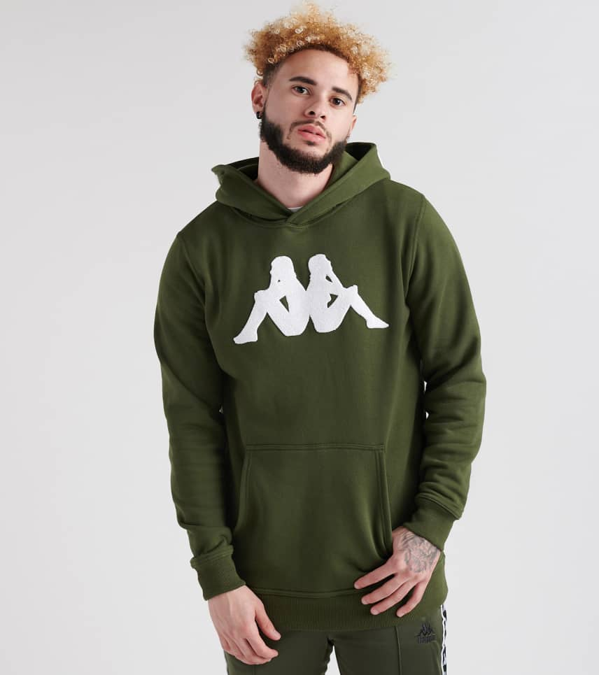 ff0c9dfca45 Kappa Authentic Bzalent Hoodie (Green) - 304L1P0-XER | Jimmy Jazz