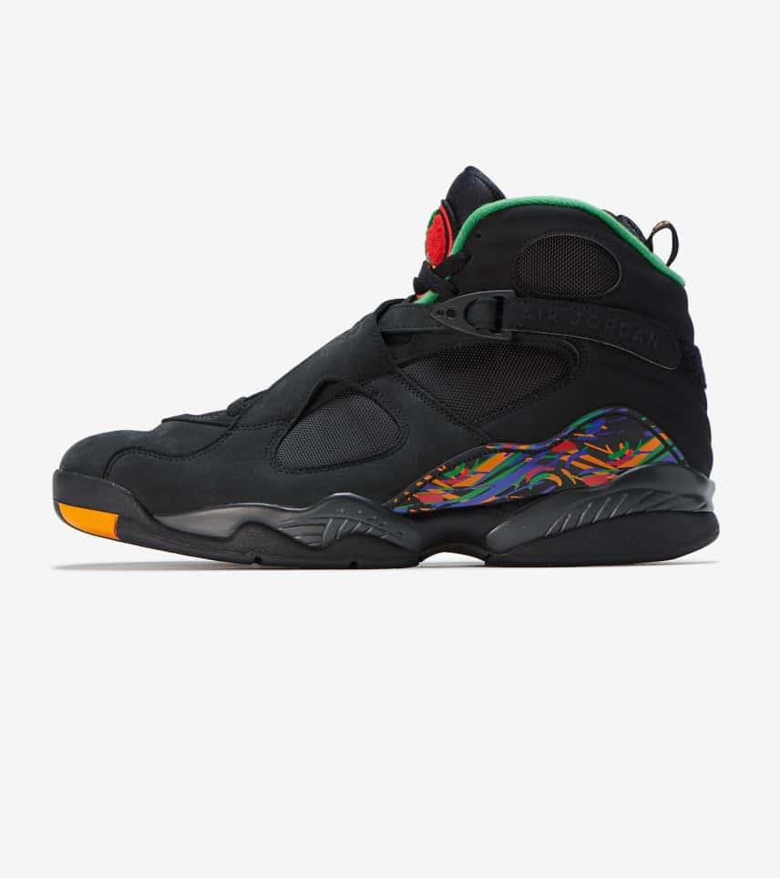 4e61e1596c34 Jordan Retro 8 Sneaker (Black) - 305381-004