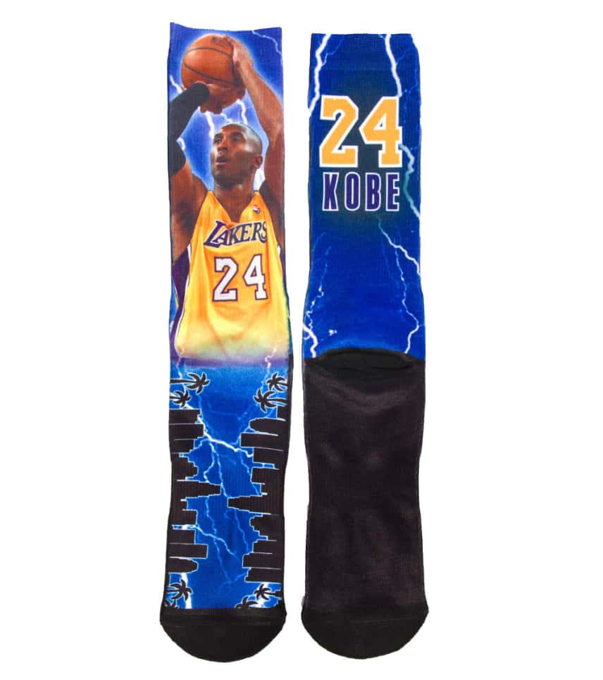 finest selection 3683c 6e5f8 FOR BARE FEET KOBE BRYANT STORM CREW SOCKS