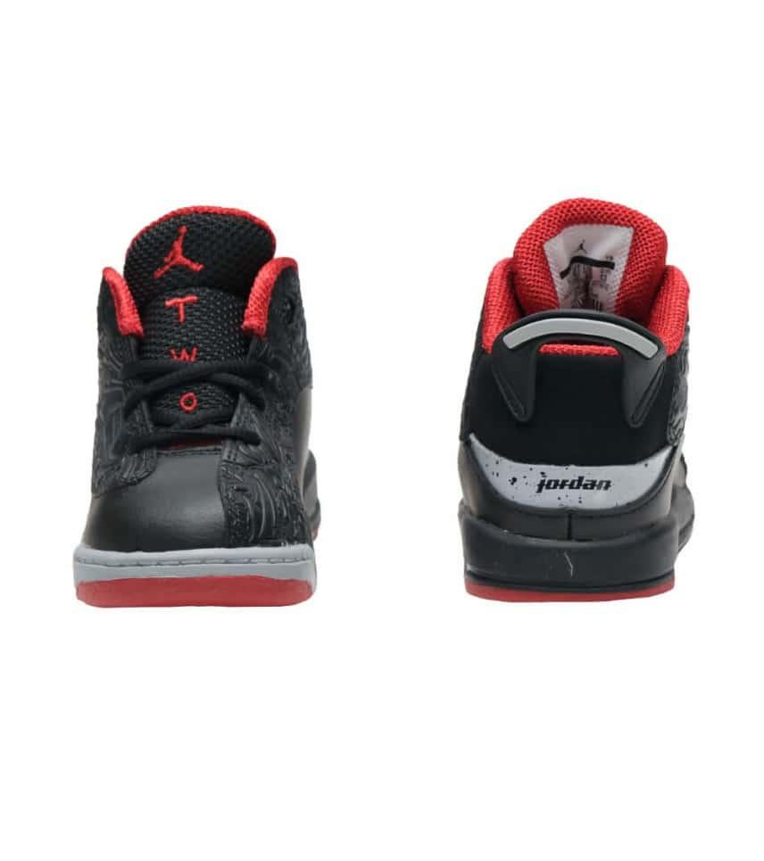 fa2baf52703d38 Jordan DUB ZERO SNEAKER (Black) - 311072-013