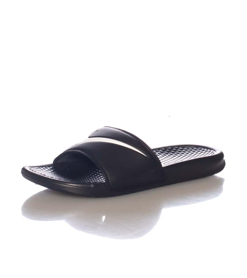 978ca7b0fd002 Nike BENASSI SWOOSH SLIDE (Black) - 312618011