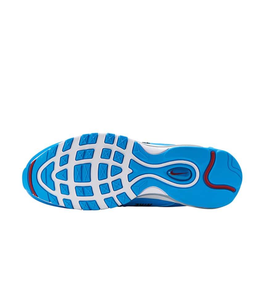 f909078045 Nike Air Max 97 Premium (Medium Blue) - 312834-401