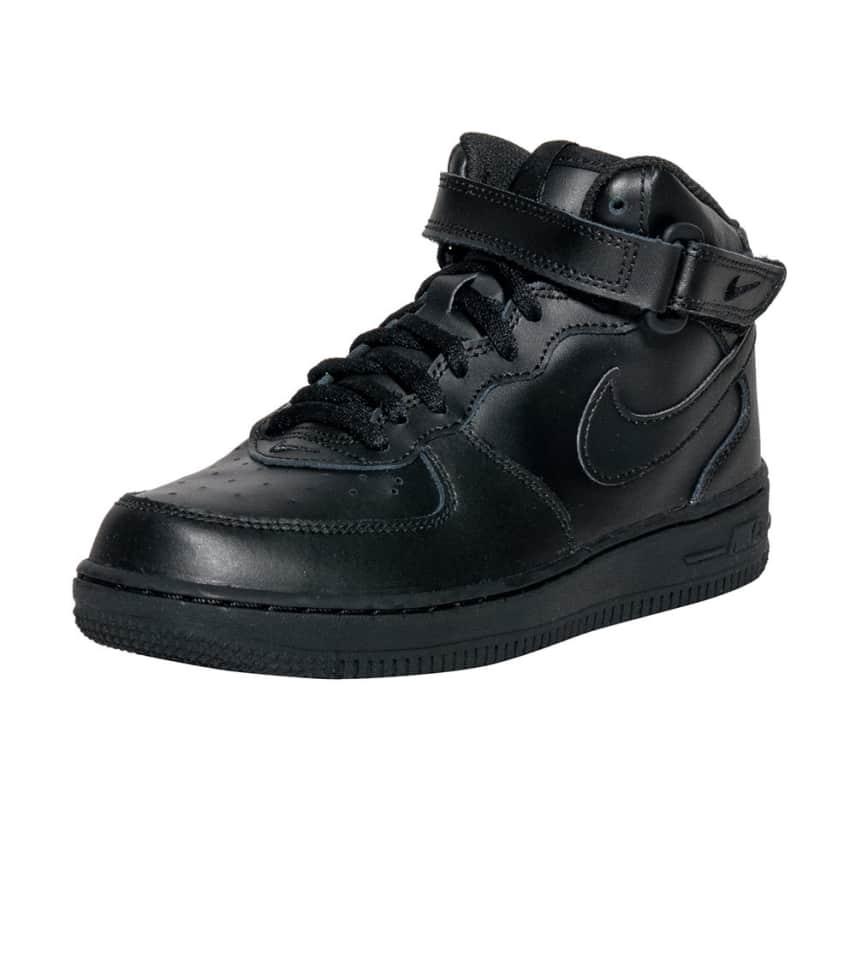 fef2a4663b8 Nike Air Force 1 Mid Sneaker (Black) - 314196-004