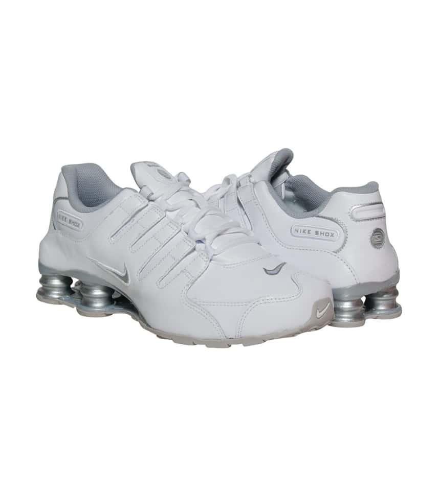 Nike SHOX NZ SI PLUS SNEAKER (White) - 317929-106  c44f30f25