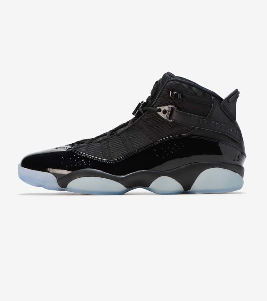 Jordan 6 Rings Sneaker (Black) - 322992-011  4e7c3e9bc