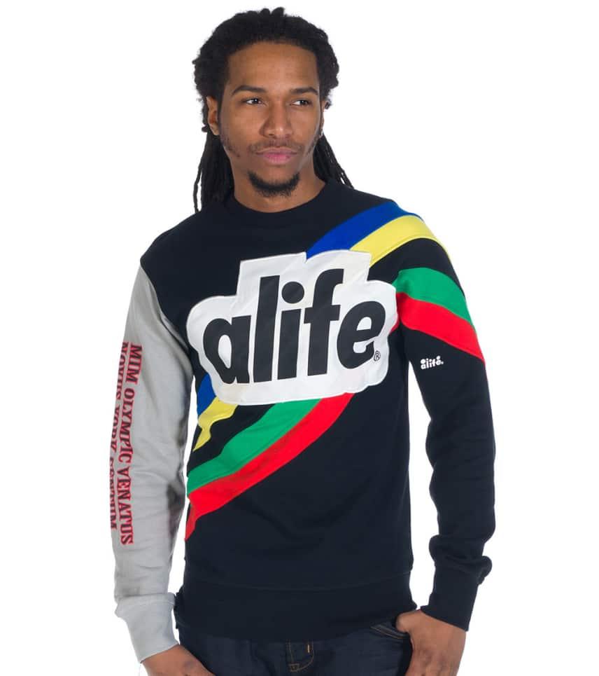 ... ALIFE - Sweatshirts - CHAMPION CREW FLEECE ... 9c3d308d6