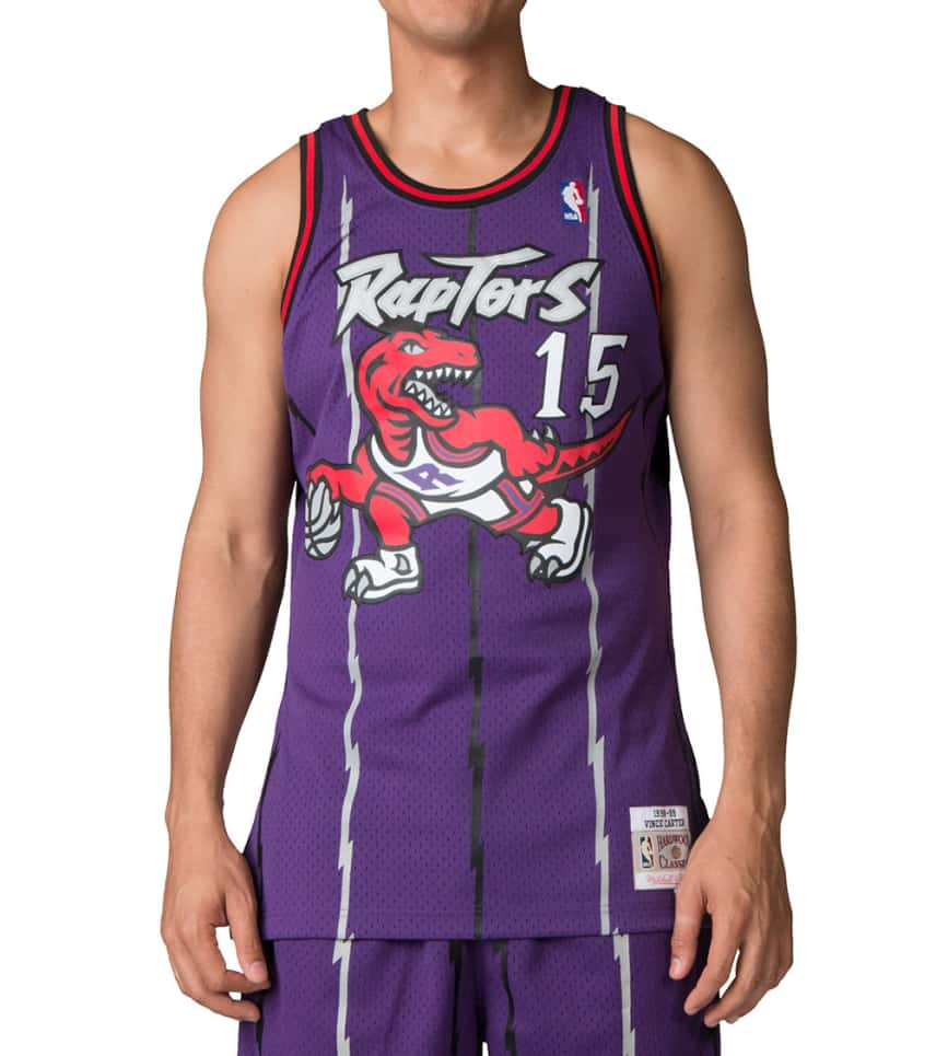 a6b1413feda Mitchell and Ness Toronto Raptors Vince Carter Jersey (Purple ...