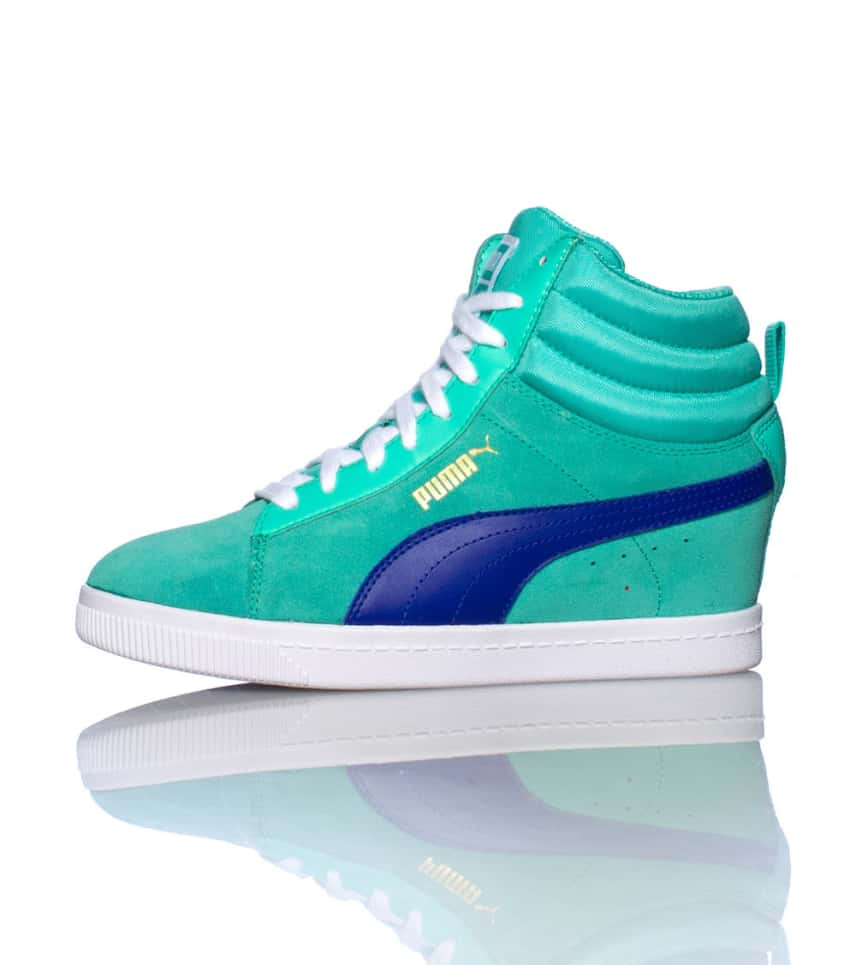 c178168ea95f Puma CLASSIC WEDGE SNEAKER (Medium Green) - 35604902
