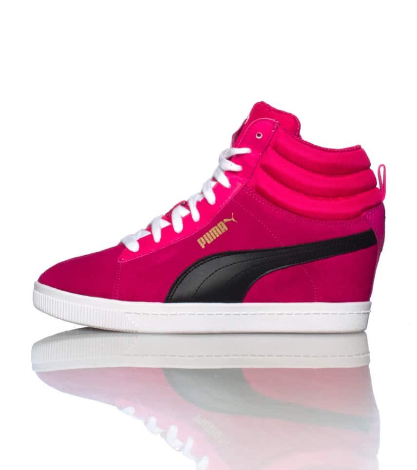 eeb3fa654902 Puma CLASSIC WEDGE SNEAKER (Pink) - 35604903