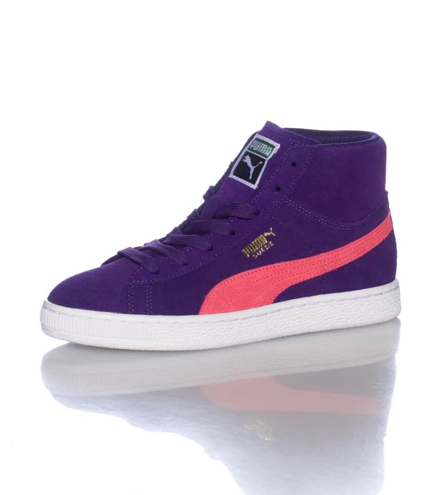 e4808c436d3f Puma SUEDE CLASSIC MID SNEAKER (Purple) - 35662607