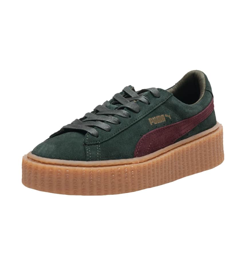 88c45dc9af4 Puma SUEDE CREEPERS SNEAKERS (Green) - 361005-07