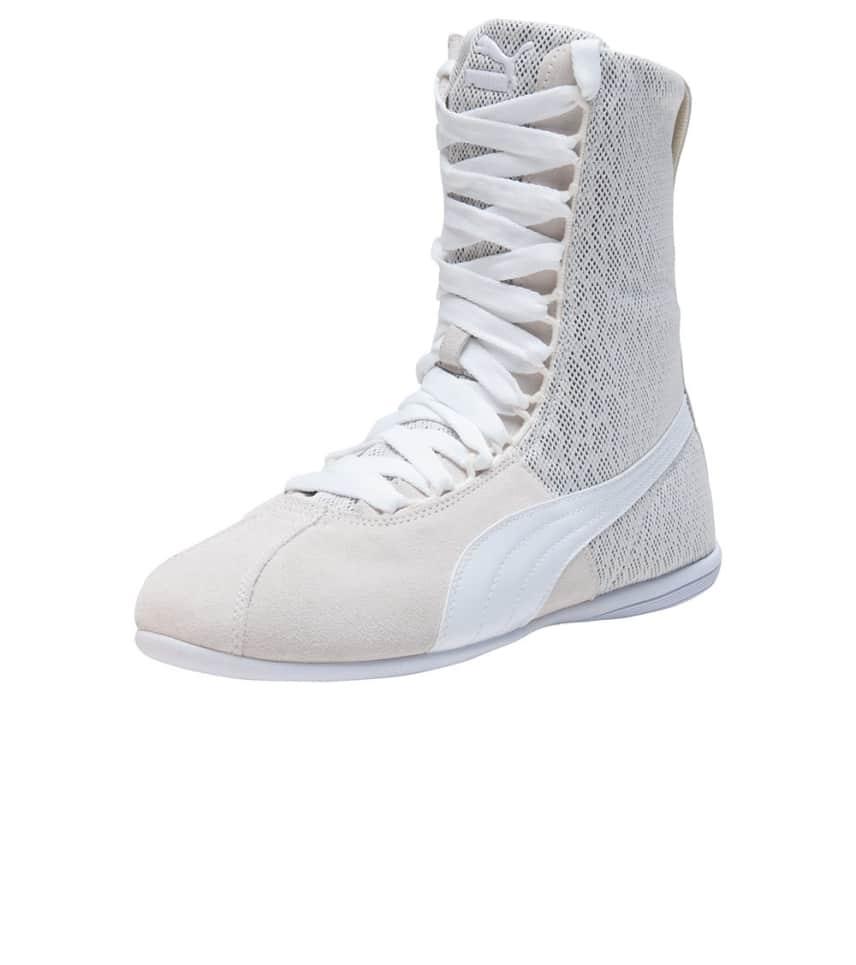 Puma Eskiva High Textured Shoe (Beige-khaki) - 361024-02  6c5d51c204