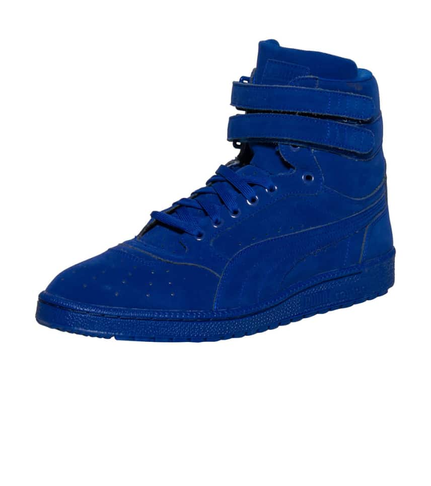 22a5bde94c93 Puma SKY II HI MONO NBK SNEAKER (Blue) - 361972-03