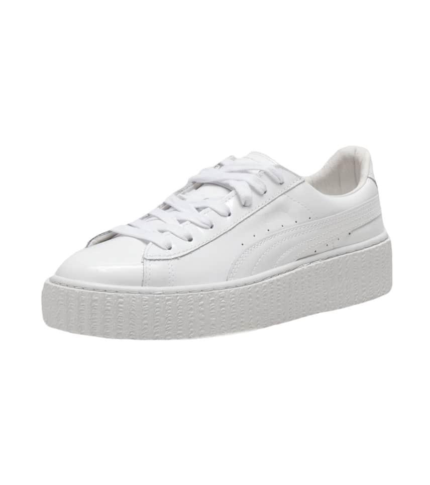 b691d886624b01 Puma BASKET CREEPERS GLO (White) - 362269-01