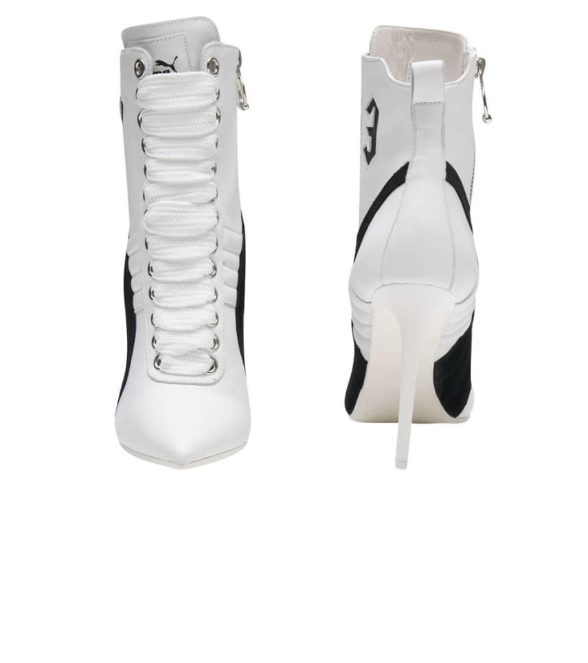 b538ef38d09 Puma HIGH HEEL LEATHER RIHANNA (White) - 363038-02