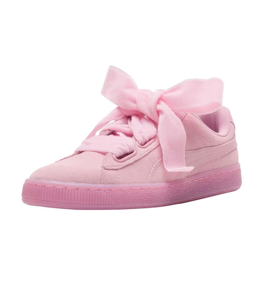 best service bff52 cb2bf Suede Heart Reset Sneaker