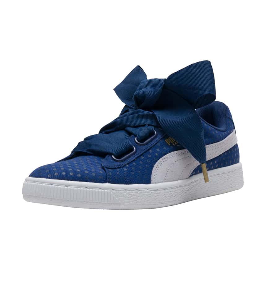 Puma Basket Heart Denim (Dark Blue) - 363371-01  8486efabd