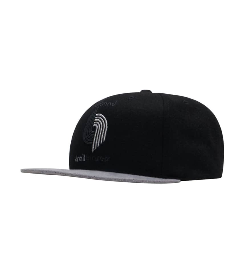 hot sale online 7fafb a54a0 Mitchell and Ness Trail Blazers Perf Snapback Cap.  17.93orig  30.00. 2 for   25. COLOR  Black