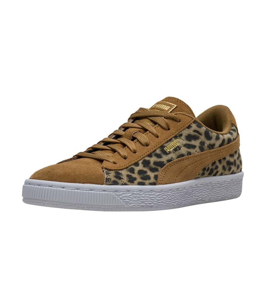 b776e66aeb992 Puma Suede Animal (Dark Beige) - 365796-01