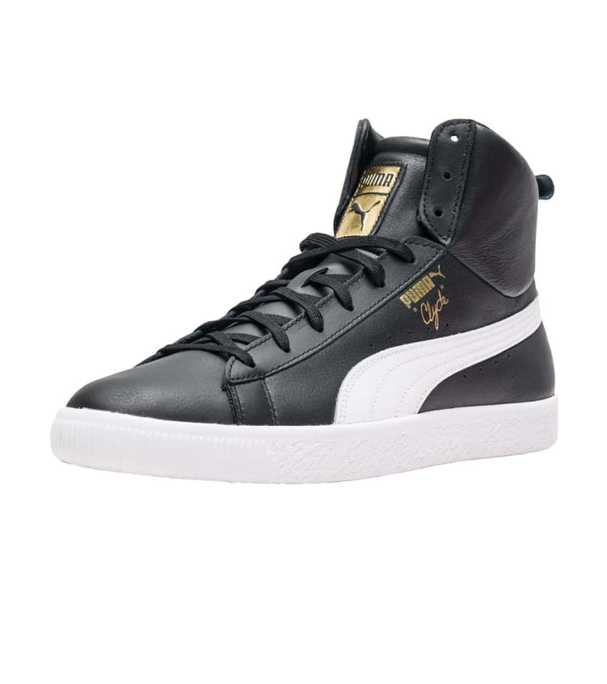 b8341cd510e Puma Clyde Mid Core Foil (Black) - 365802-01