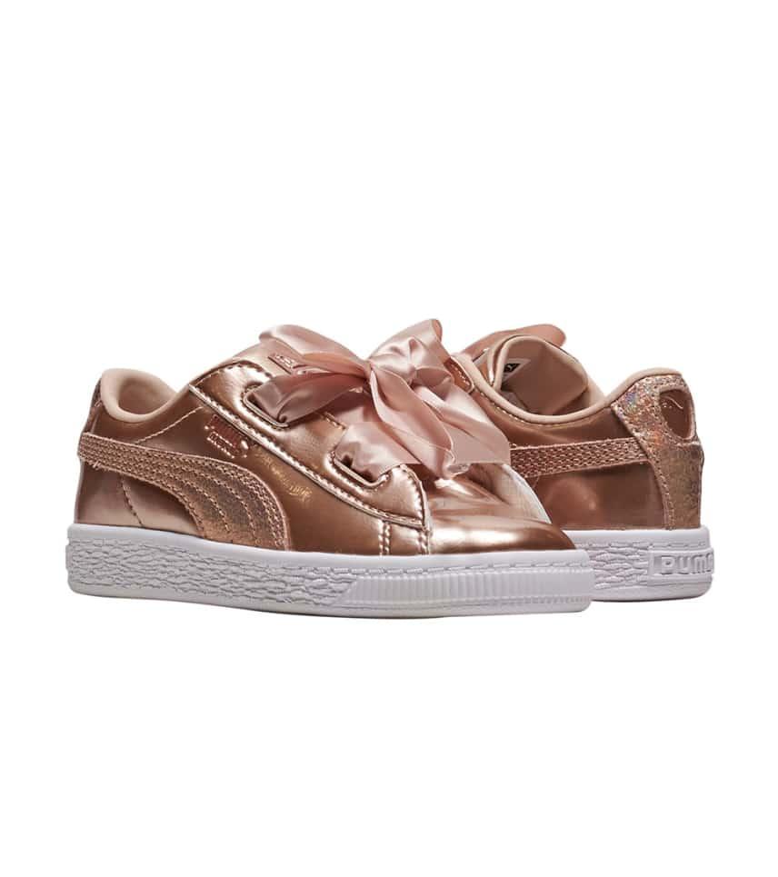 66cbd848eb4c94 Puma Basket Heart Lunar Lux (Medium Pink) - 365995-02