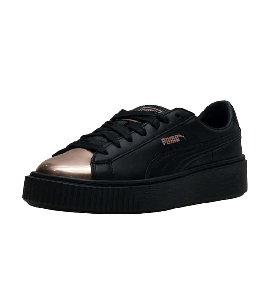 Puma Basket Platform Metallic Sneaker (Black) - 366169-02  2acb40eb1