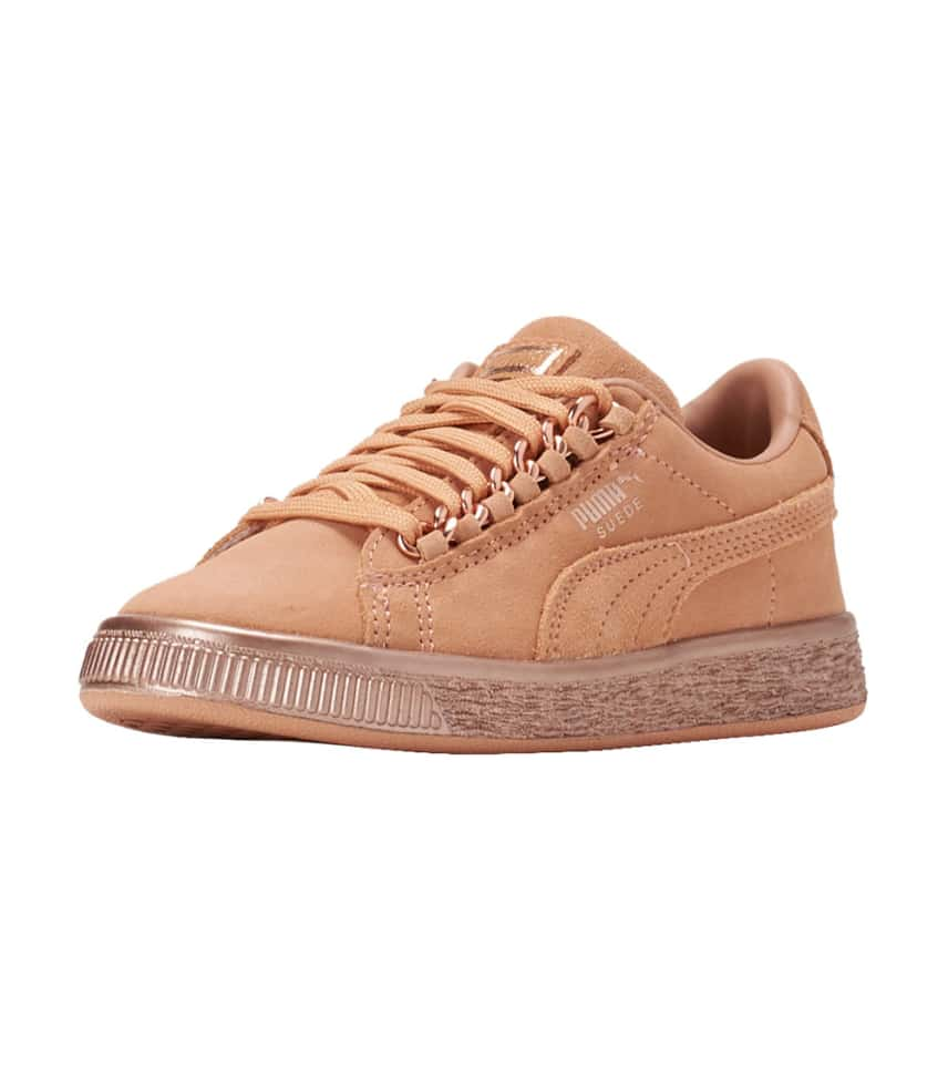 outlet store f8955 7090e Suede Classic X Chain