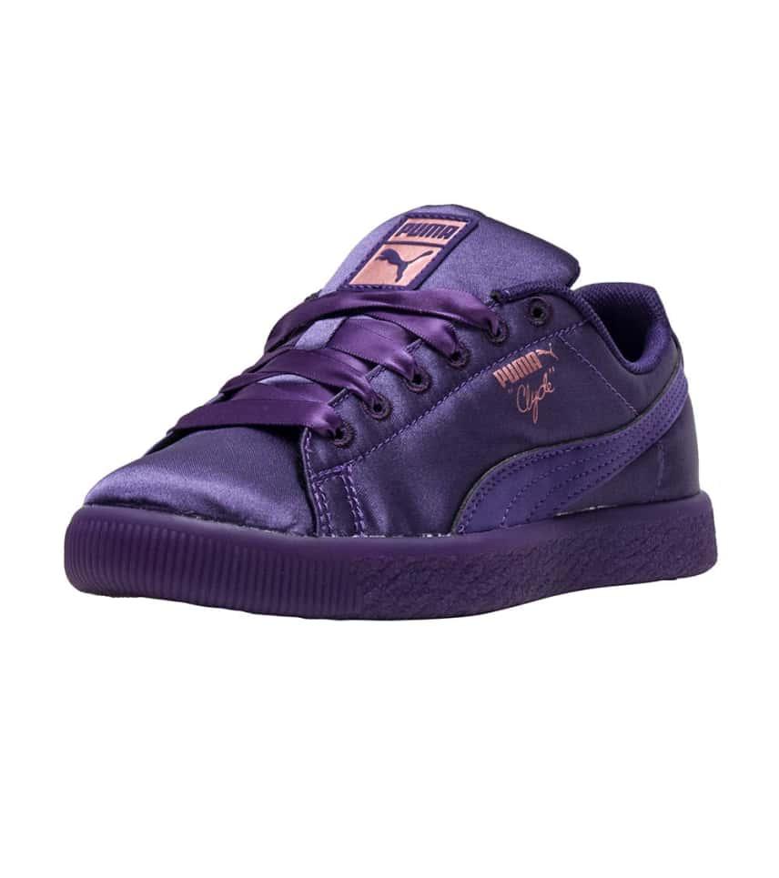 PumaCLYDE SATIN PS.  14.95orig  60.00. COLOR  Dark Purple 9f11173a0