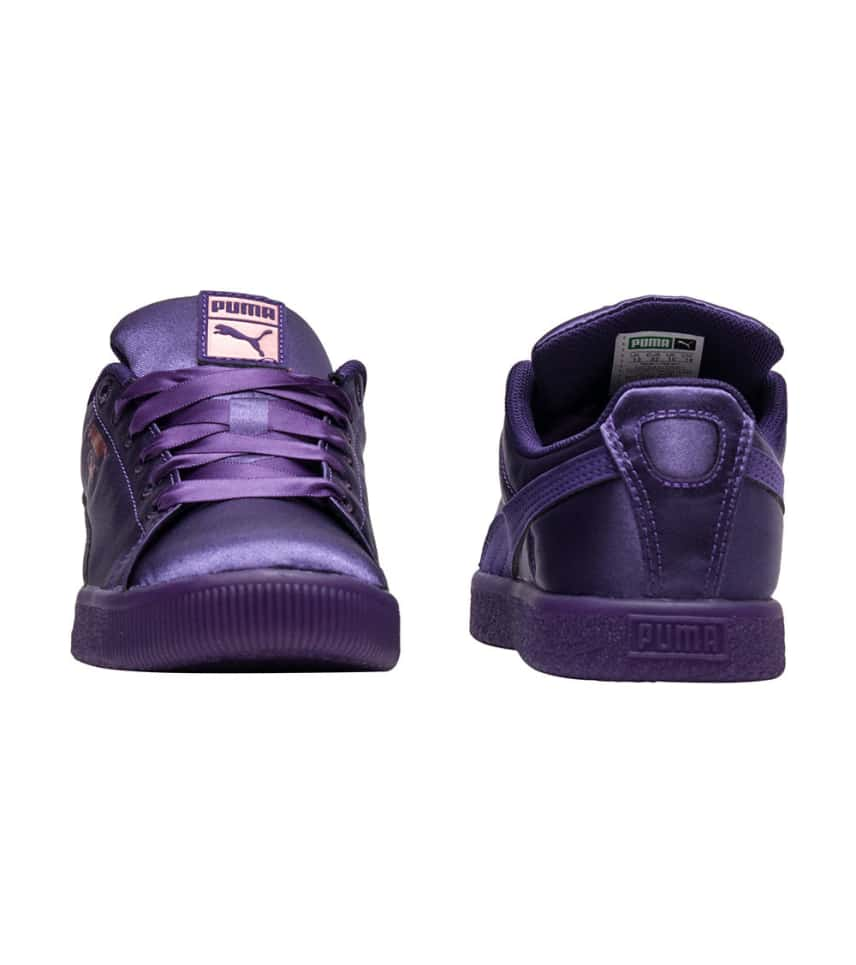 Puma CLYDE SATIN PS (Dark Purple) - 366981-01  2a506c7fb