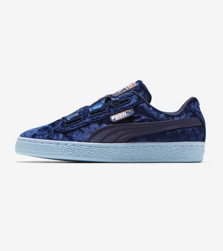 puma basket navy blue