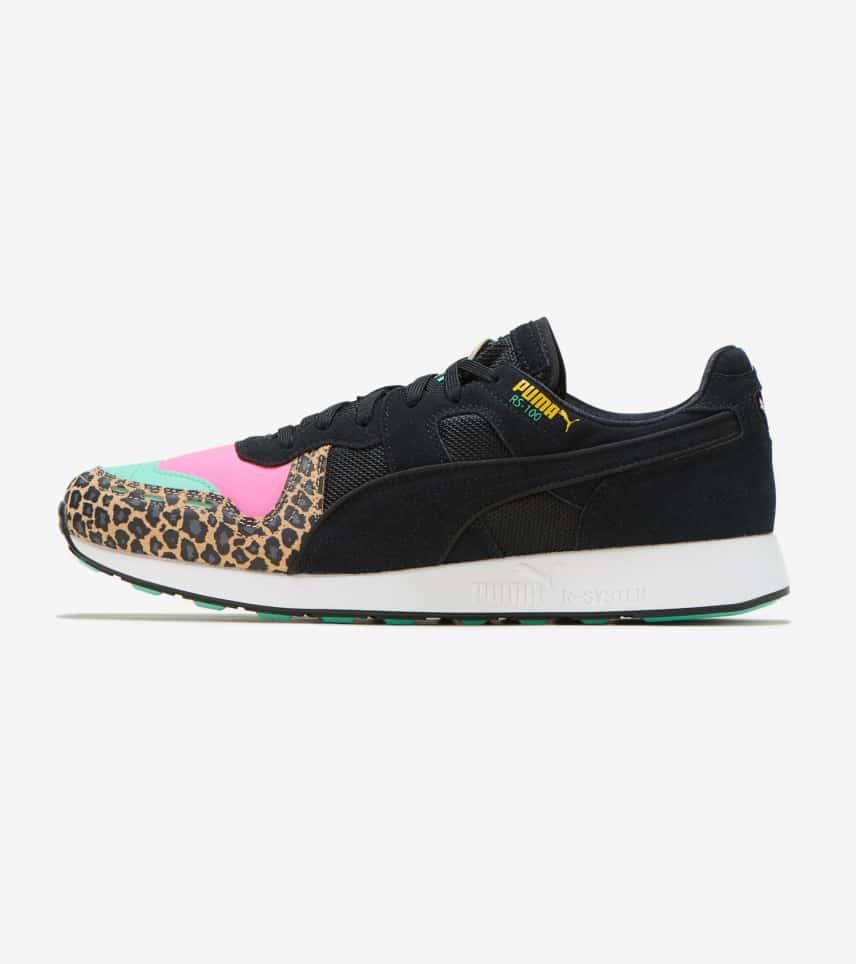 0158a8eea463 Puma RS-100 Party Cheetah (Black) - 368293-01   Jimmy Jazz