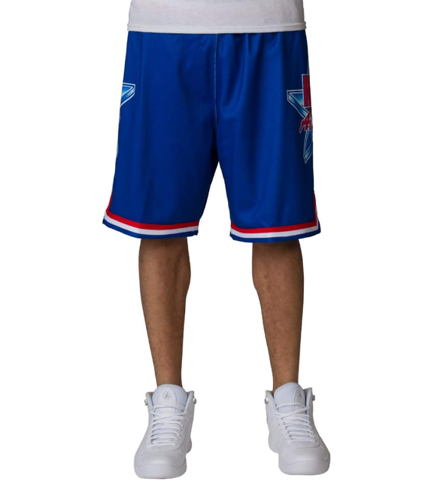 Mitchell and Ness All Star 1993 NBA Shorts (Blue) - 369PASE93A ... aa5b7f5ee