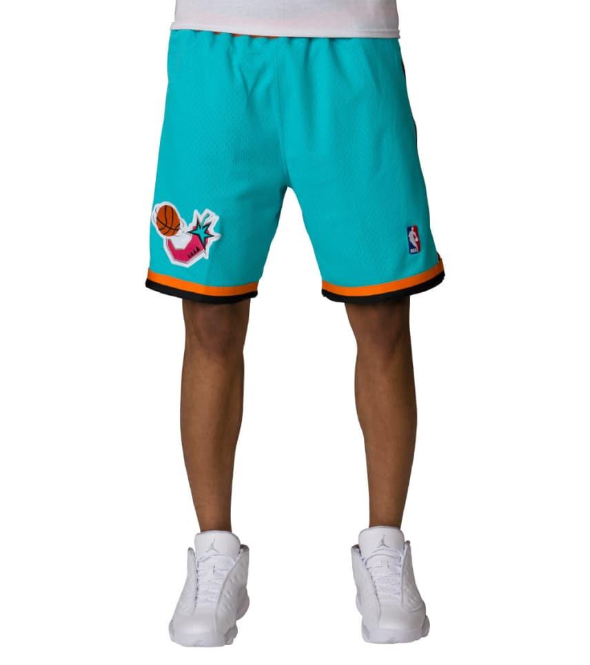 455d91de91d Mitchell and Ness All Star 1996 NBA Shorts (Medium Green ...