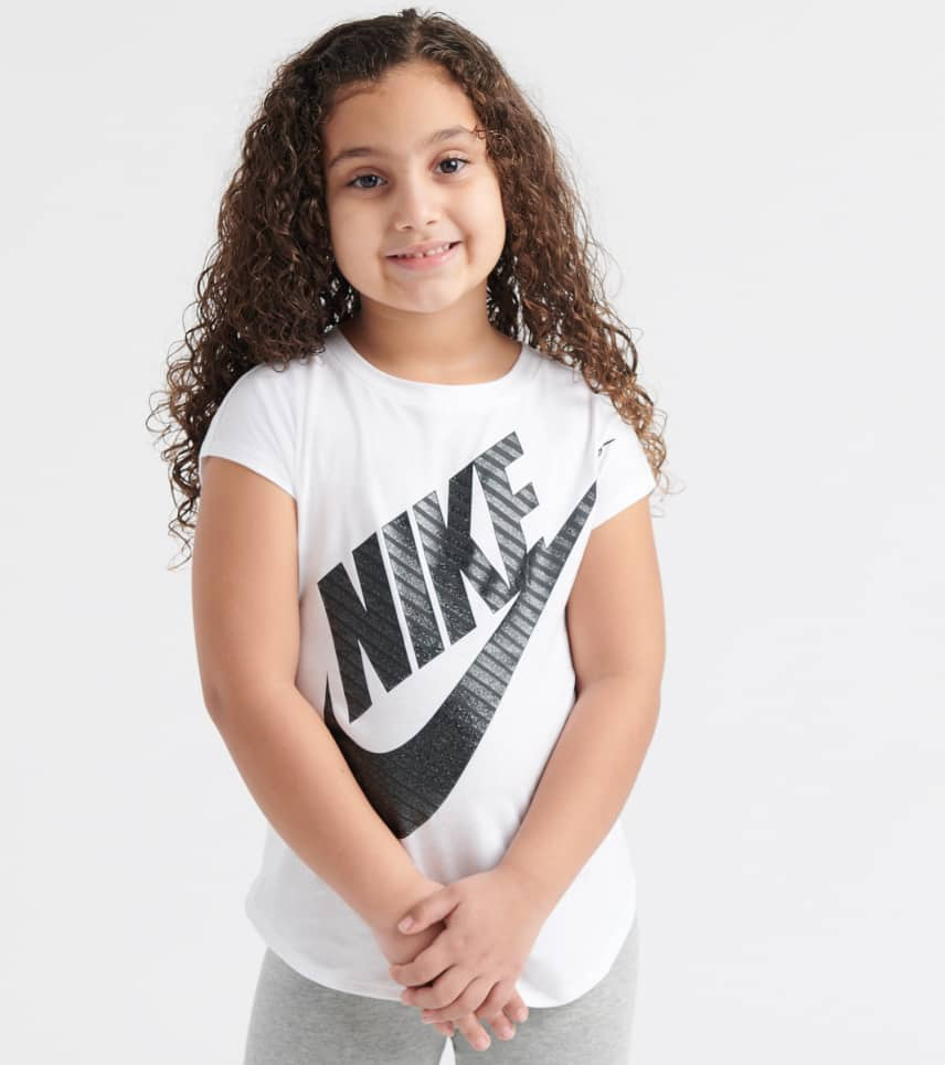 32d1d1d1 Nike Jumbo Futura Tee (White) - 36D907-001 | Jimmy Jazz