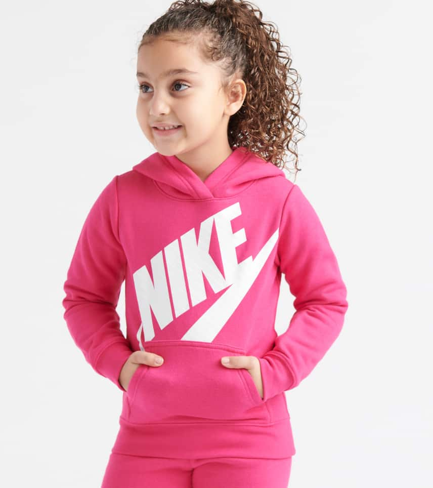 0ce3518c8 Nike Futura Fleece Pullover Hoodie (Pink) - 36E093-A4Y | Jimmy Jazz