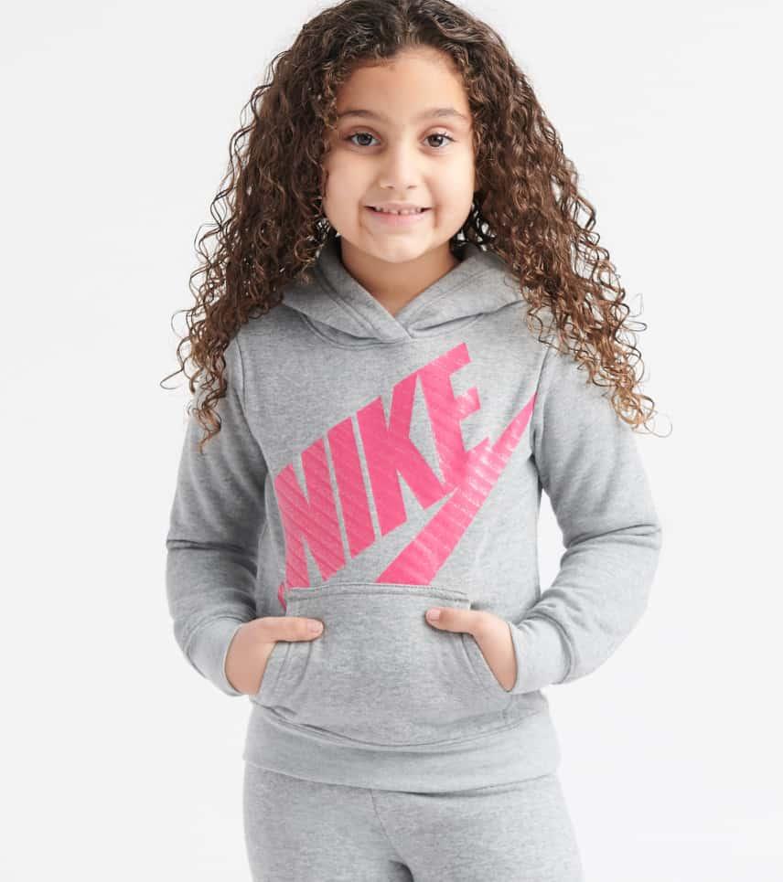 24652880f Nike Futura Fleece Pullover Hoodie (Grey) - 36E093-G7T   Jimmy Jazz