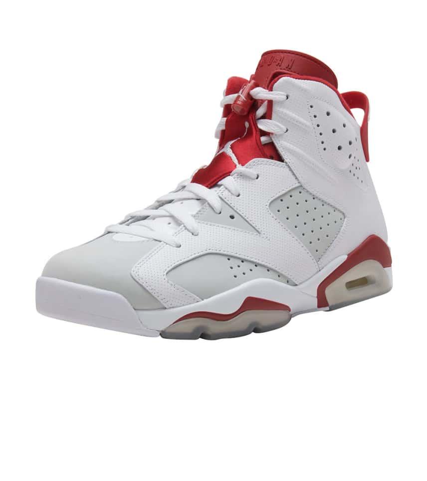 61d49983992e19 Jordan RETRO 6 SNEAKER (White) - 384664-113