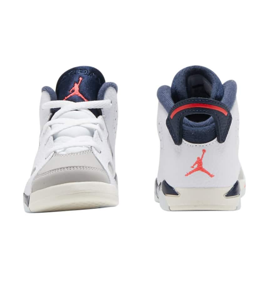 841e2e3c11c950 Jordan Retro 6 (White) - 384667-104