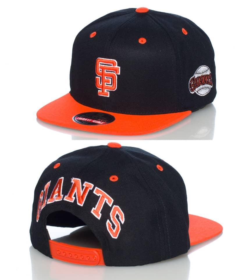 35c972d63c395b AMERICAN NEEDLE SAN FRANCISCO GIANTS MLB SNAPBACK CAP (Black ...