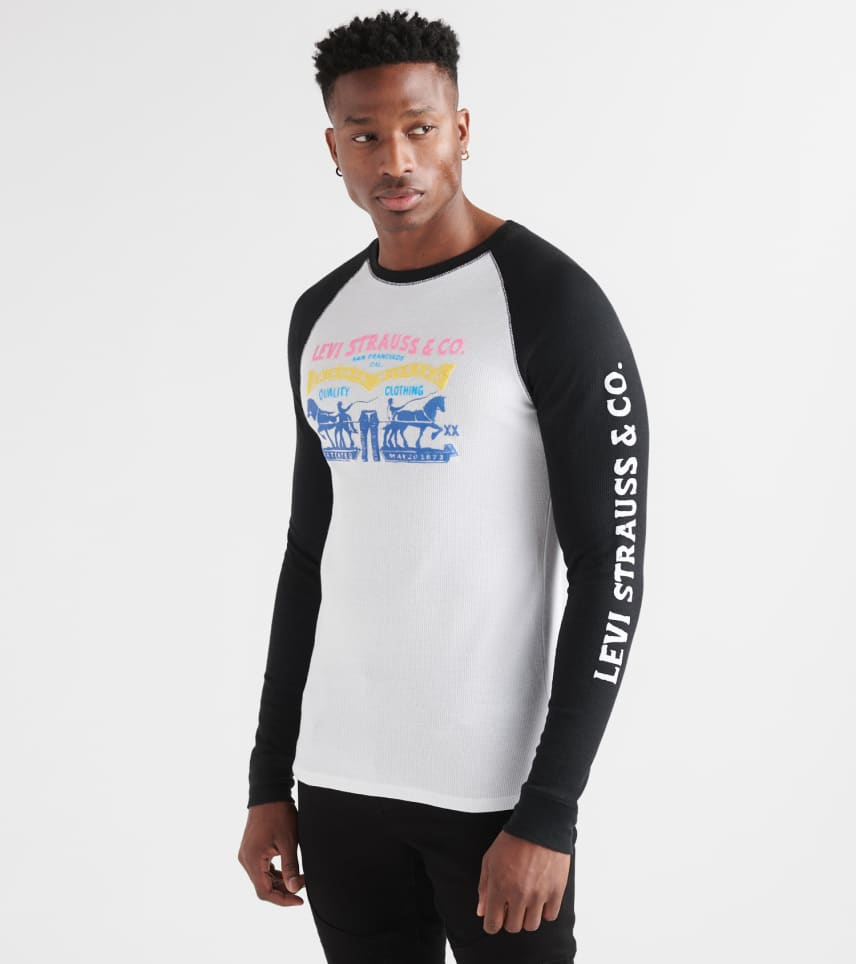 Levis  Quaking Raglan Long Sleeve Thermal
